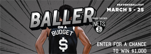 Baller on a Budget: Enter to Win $1,000