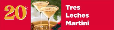 Christmas Cocktail Countdown: Tres Leches Martini