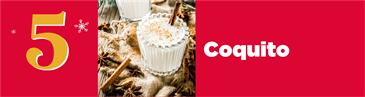 Christmas Cocktail Countdown: Coquito